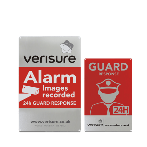 Verisure Deterrent Signs